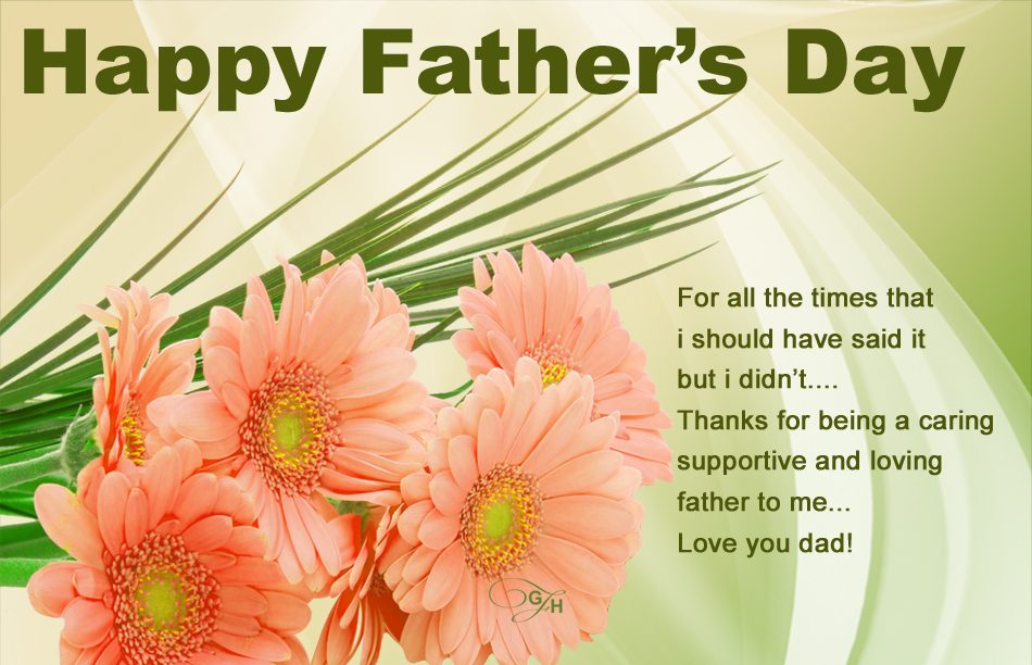 Fathers Day Greetings Card Image