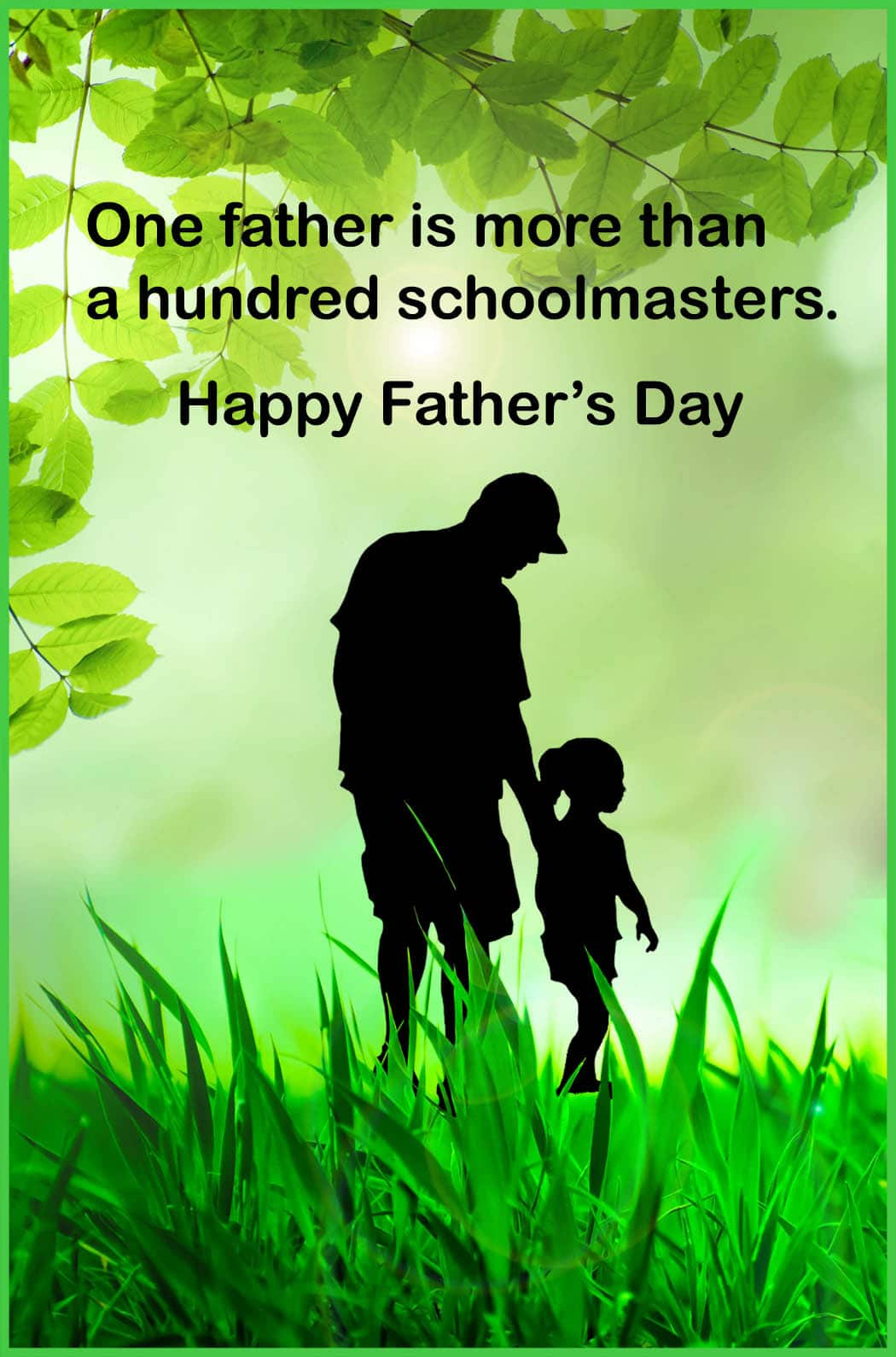 Fathers Day Greetings Card Message