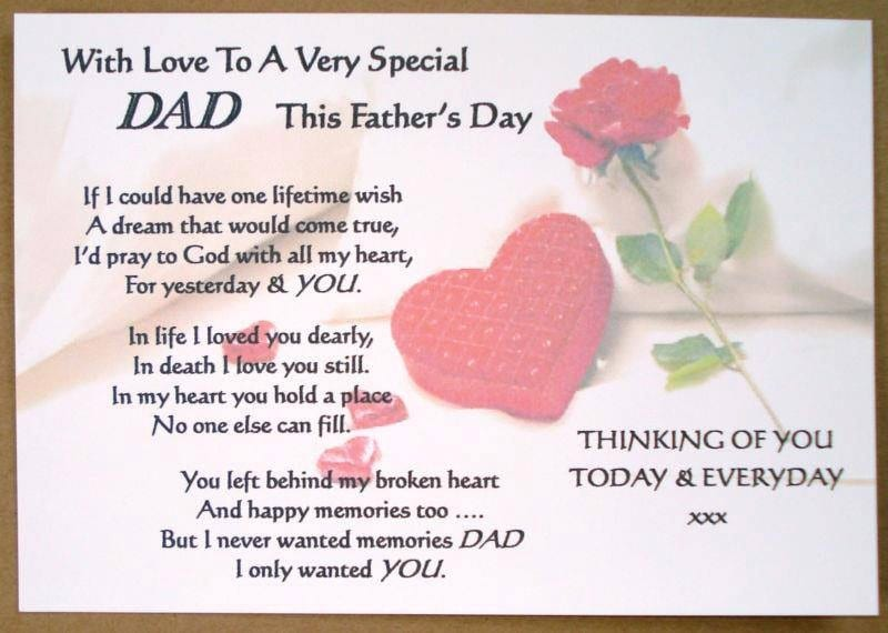Fathers Day Poem From Son