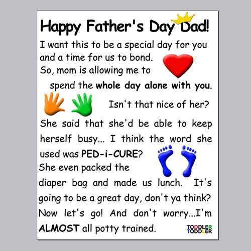 Father's day sayings for cards