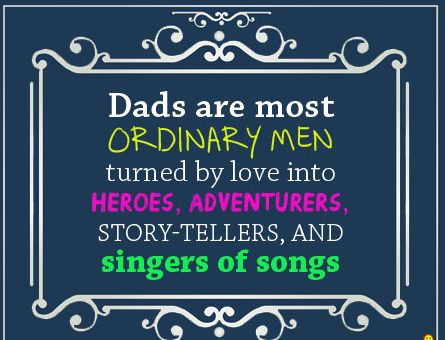 Fathers day sayings for cards