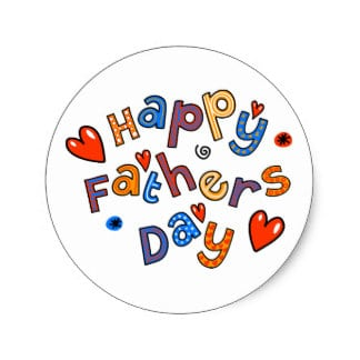 Fathers day sticker