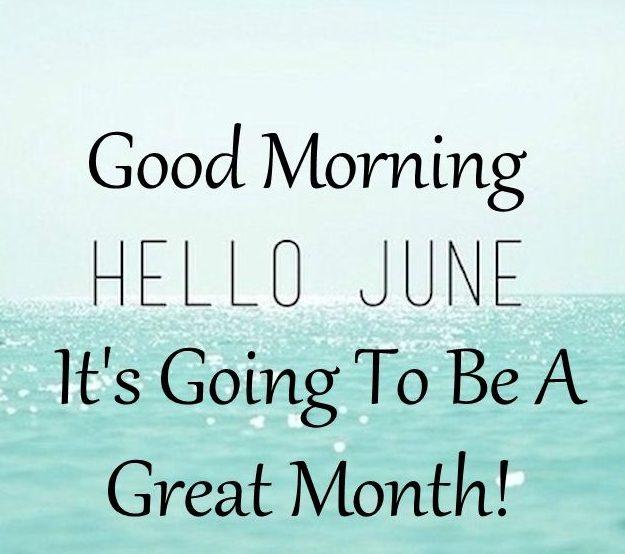 Bye June Hello June Picture