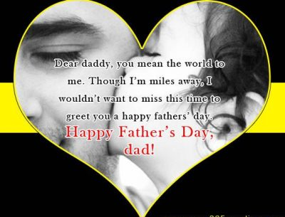 Happy Father's day wishes from Daughter