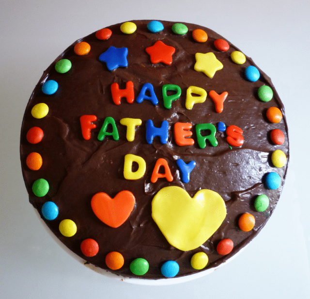 Happy Fathers Day Cake Pic