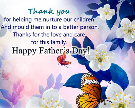 Happy Fathers day messages for cards