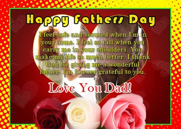 Happy Fathers day sayings for card