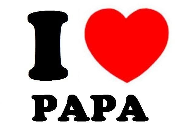 Happy fathers day papa Design