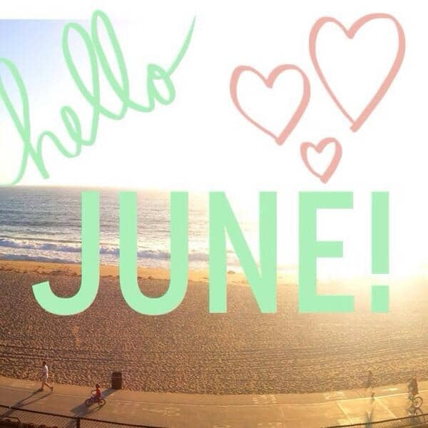 Hello June Wallpaper