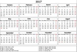 June July 2017 Calendar Image Download