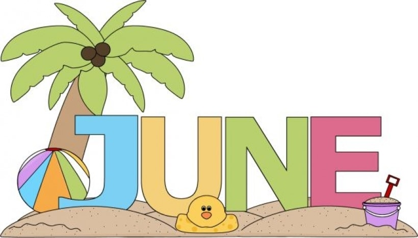 June Month 2017 Clip art