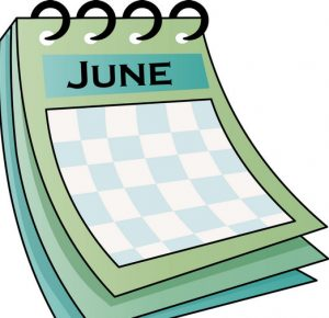 June Month 2017 Clip art Download