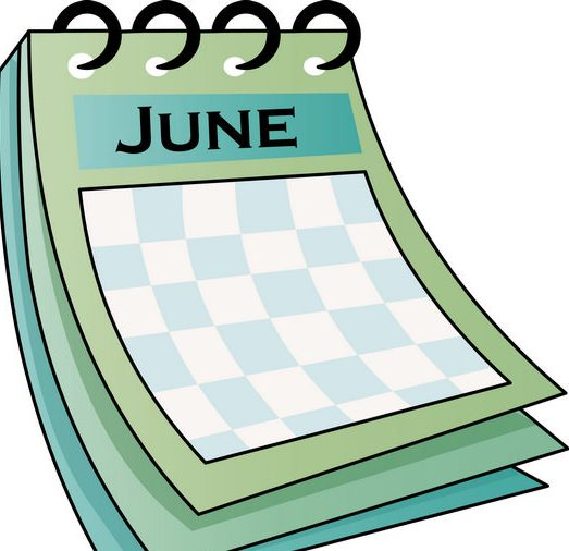 June Month 2017 Clip art Download