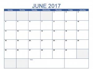 June Month 2017 Clip art Photos