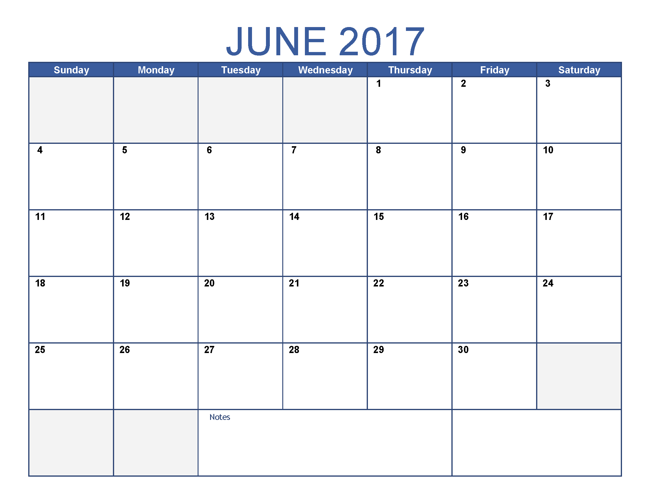June Month 2017 Clip art Photos