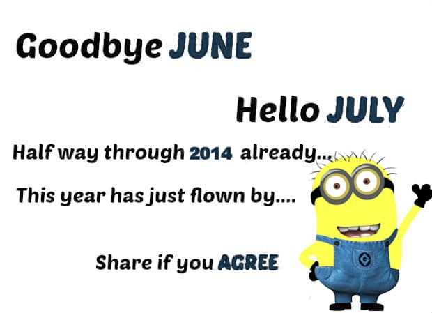Welcome July Quotes And Sayings