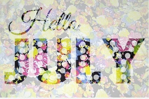 Welcome July 2017 Image