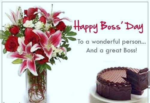 Boss Day Best Wishes