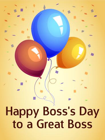 Boss Day Card