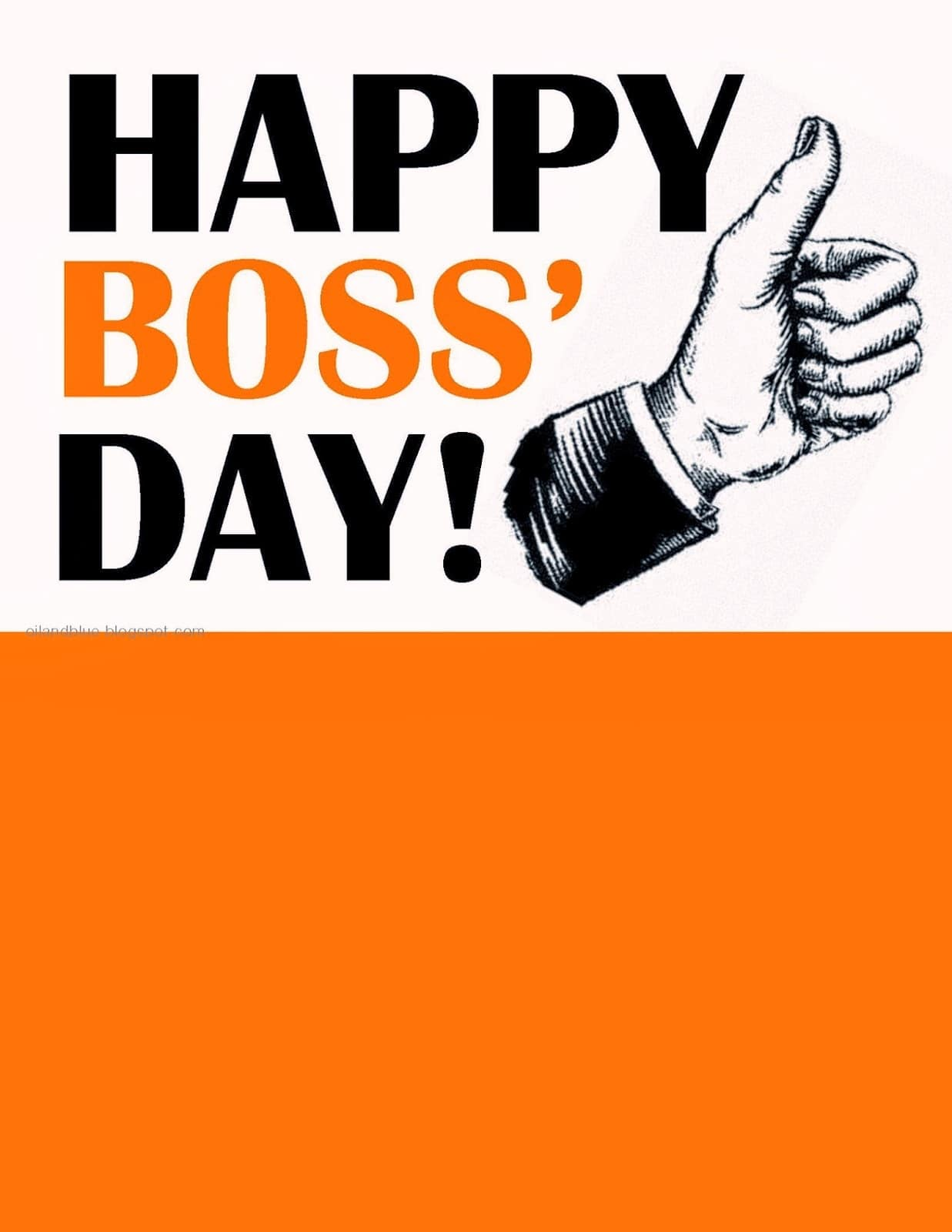 Boss Day Greeting Card