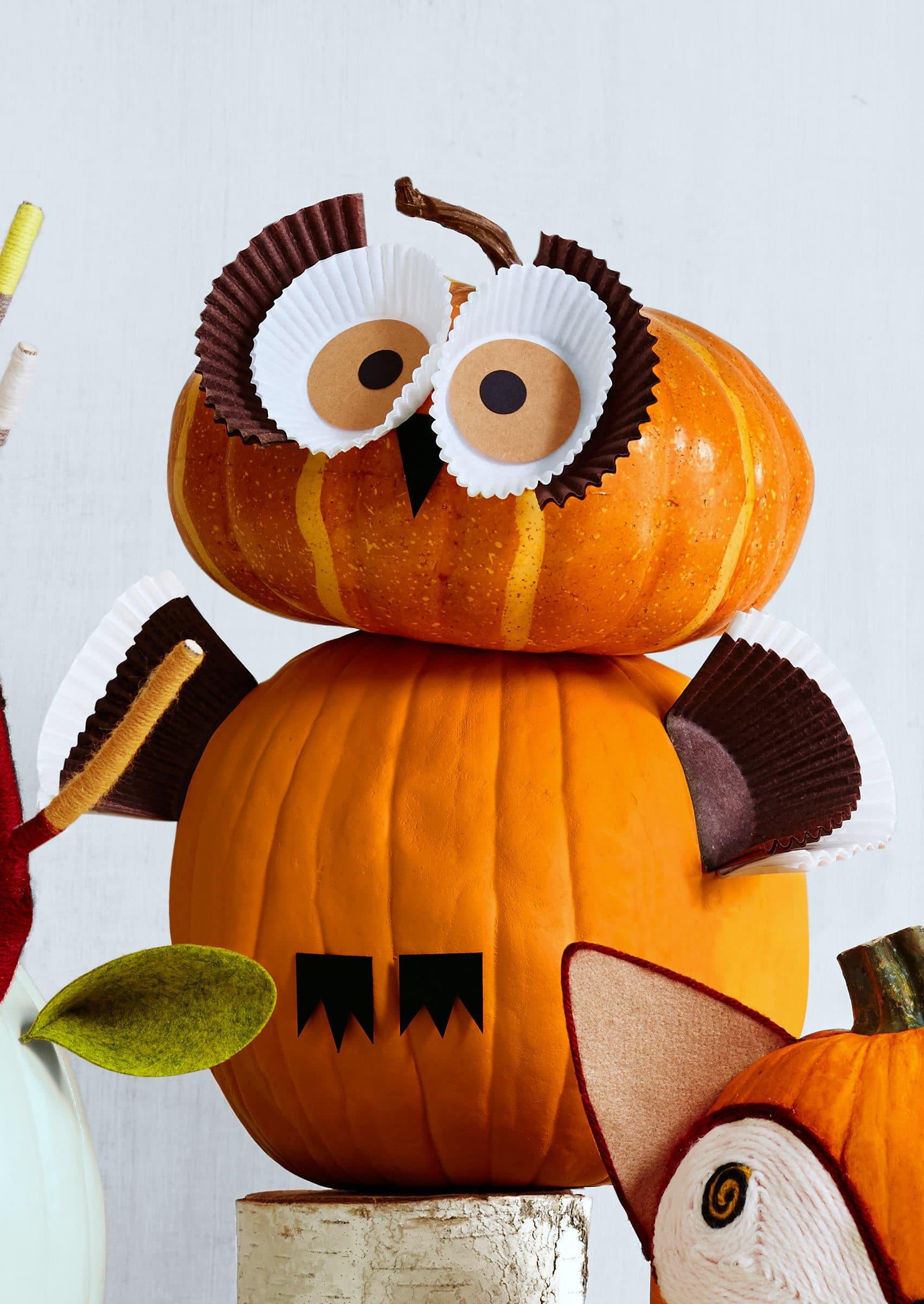 Cute Pumpkin On Halloween