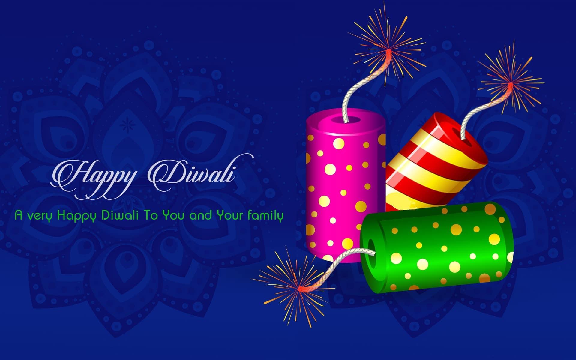 Diwali Cracker Wishes