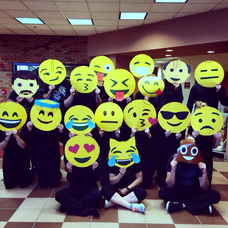 Emoji Masks on Halloween