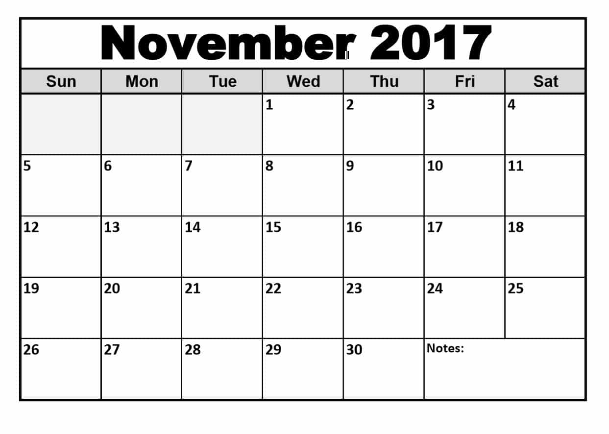 image regarding Printable Nov Calendar called Cost-free November 2017 Holiday vacation Calendar Quotation Photographs High definition No cost