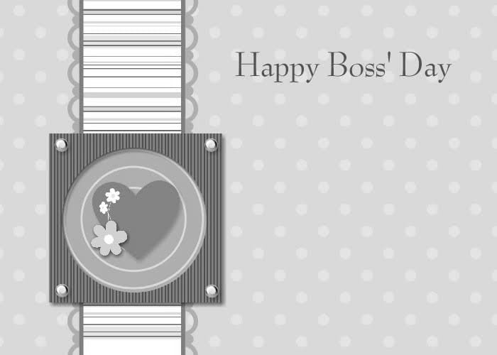 Happy Boss's Day Greeting