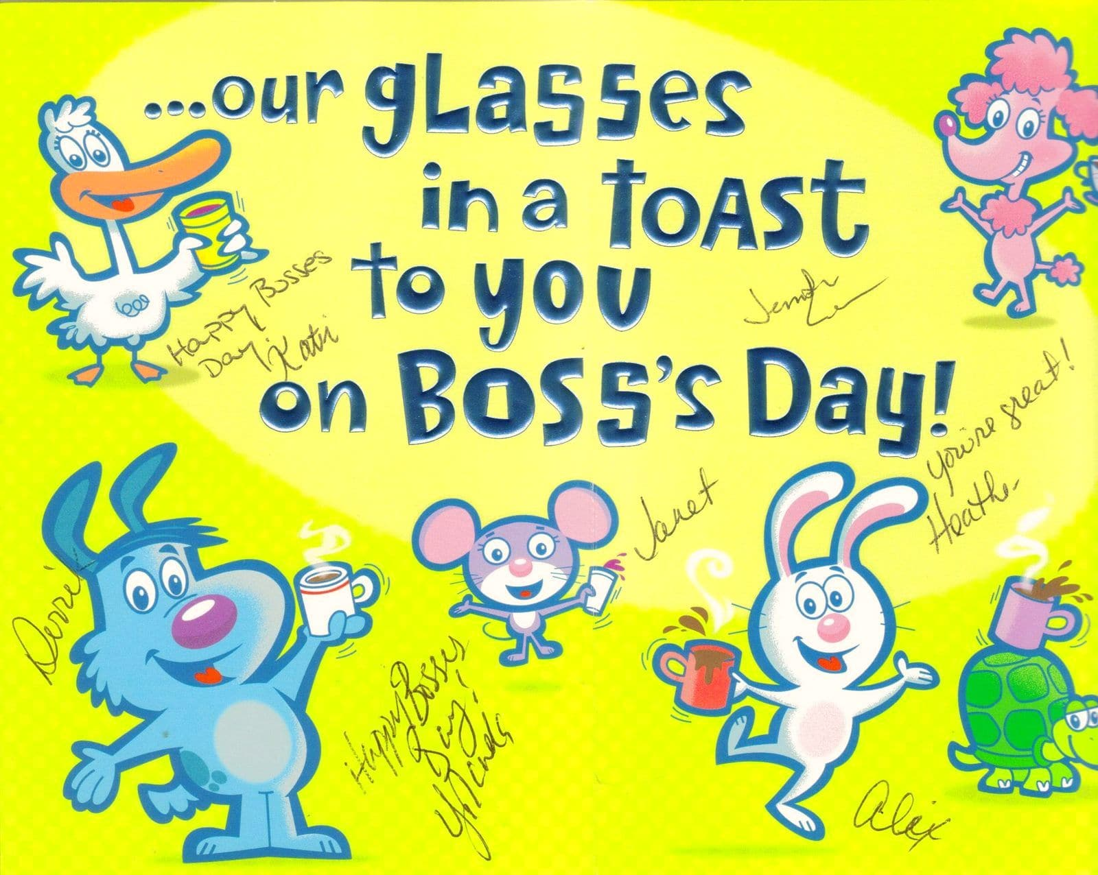 Happy Boss's Day Party