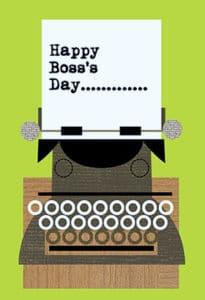 Happy Boss's Day Printable