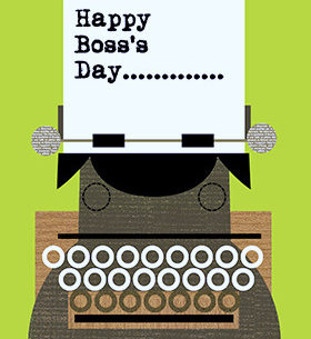 Happy Boss's Day Printable