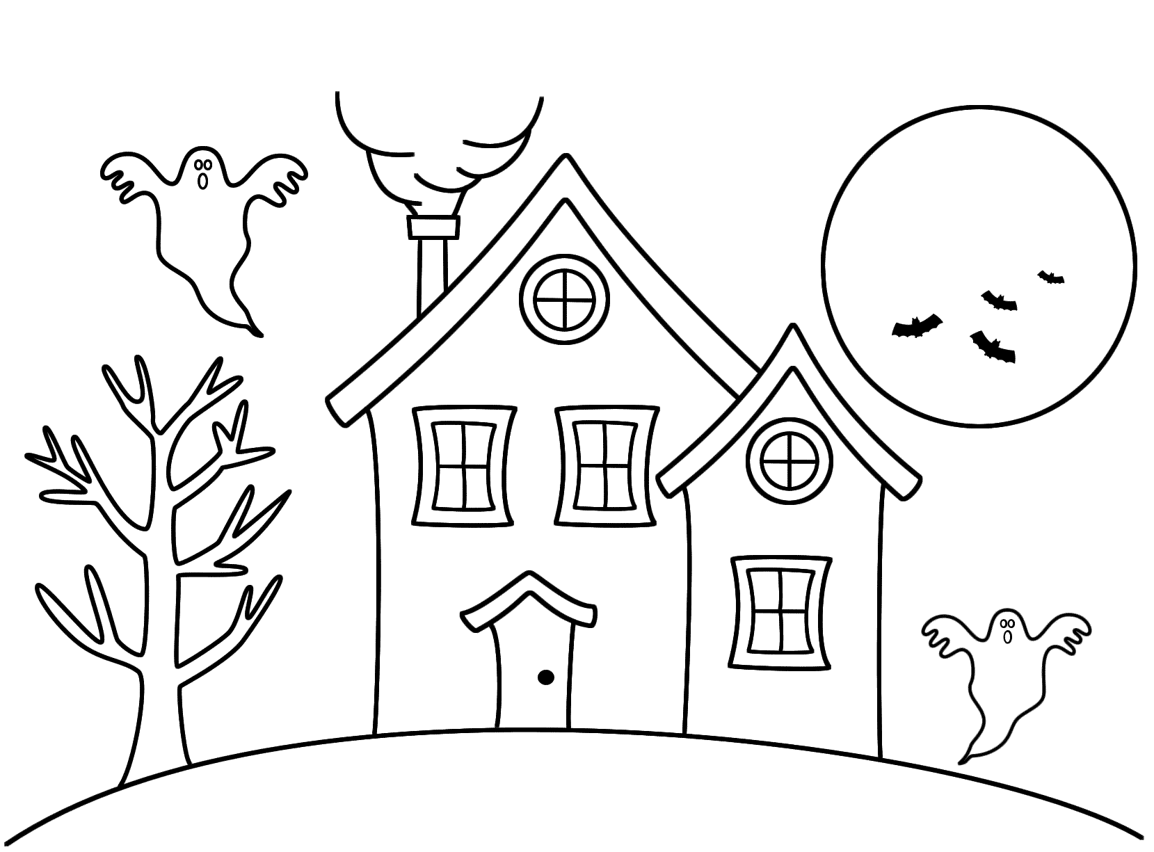 Haunted House for Color