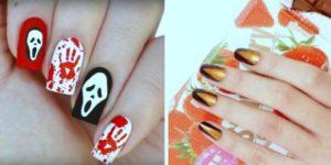 Nail Art on Halloween