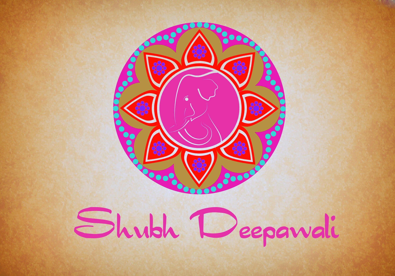 Shubh Deepawali rangoli