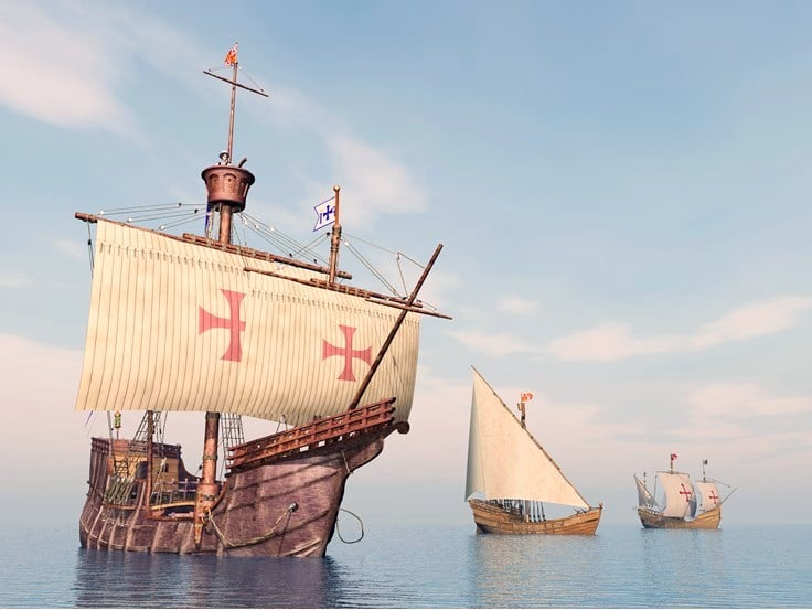 christopher columbus Ship Images