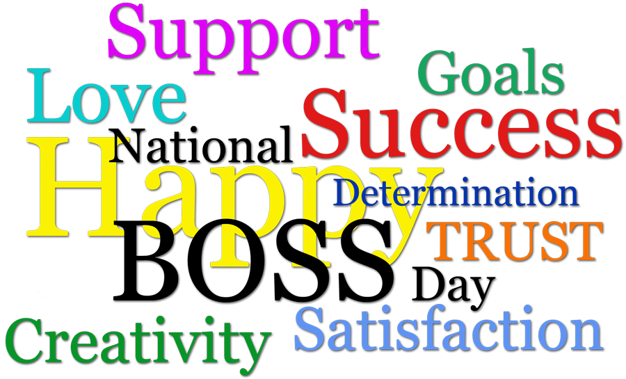 Boss Day Clipart