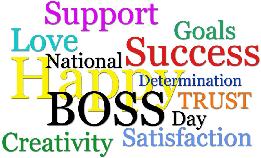 Boss Day Clipart