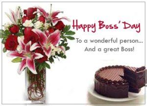 Boss Day Flower
