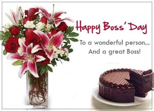 Boss Day Flower