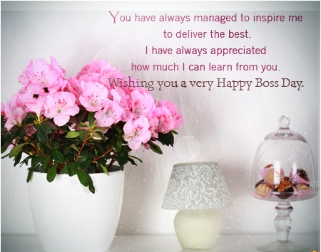 Boss Day Greeting