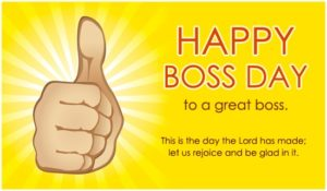 Boss Day Wishes