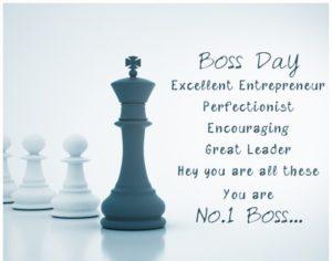 Boss no. 1