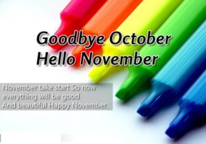 Goodbye October Images Printable