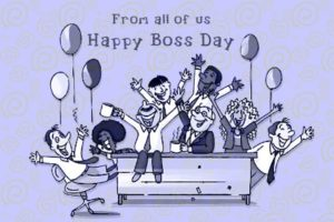 Happy Boss Day Party