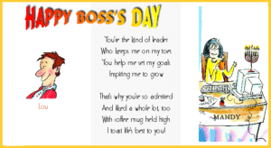 Happy Boss Day Pictures
