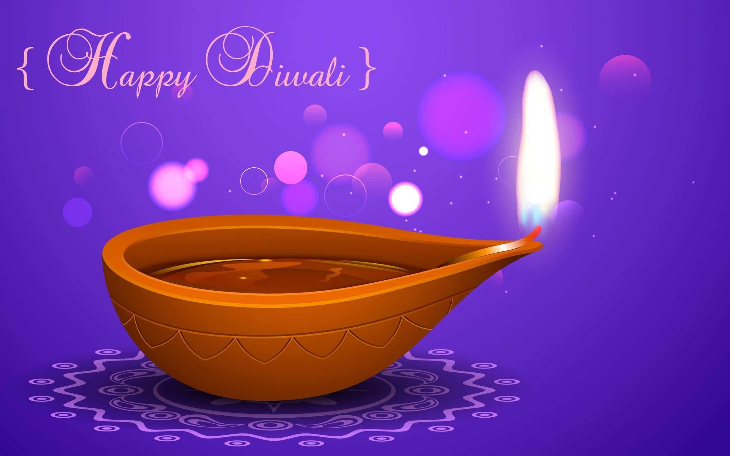 Happy Deepawali Diya
