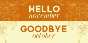 Hello November Goodbye October Pics, Images