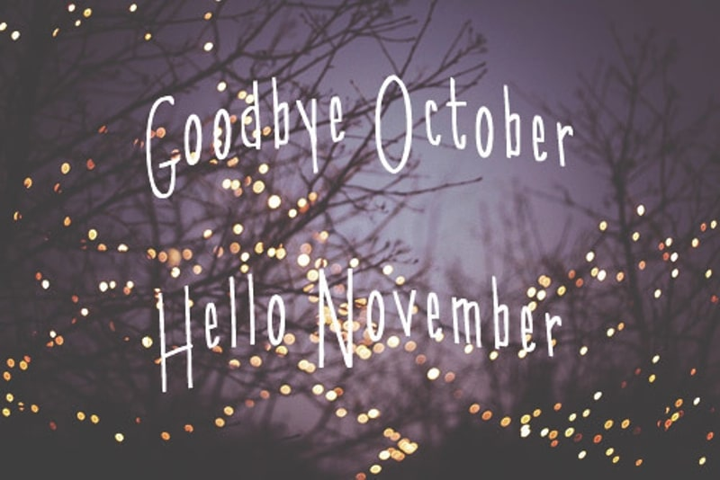 Hello November Images, Quotes