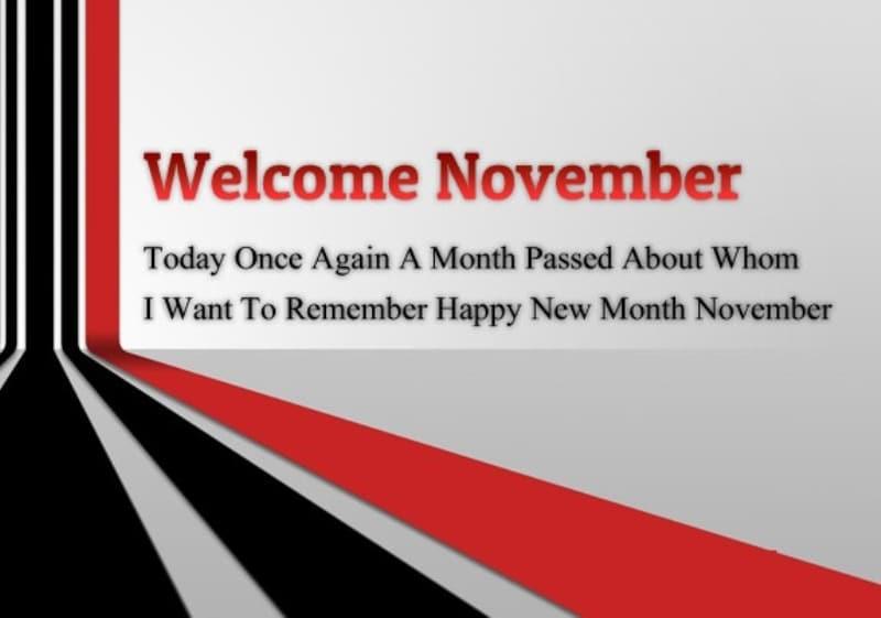 Hello Quotes November